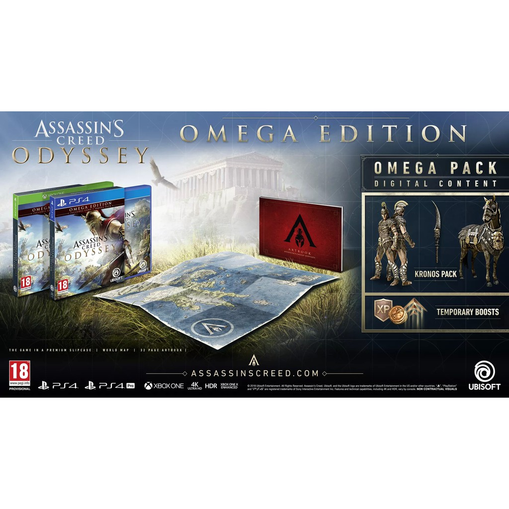 Assassin's Creed Odyssey (R3) - PS4 Omega Edition
