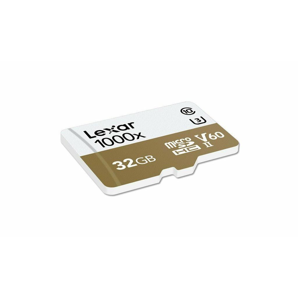Lexar Professional 32GB MicroSDHC 1000x Class 10 with Card Reader Read 150MB/s