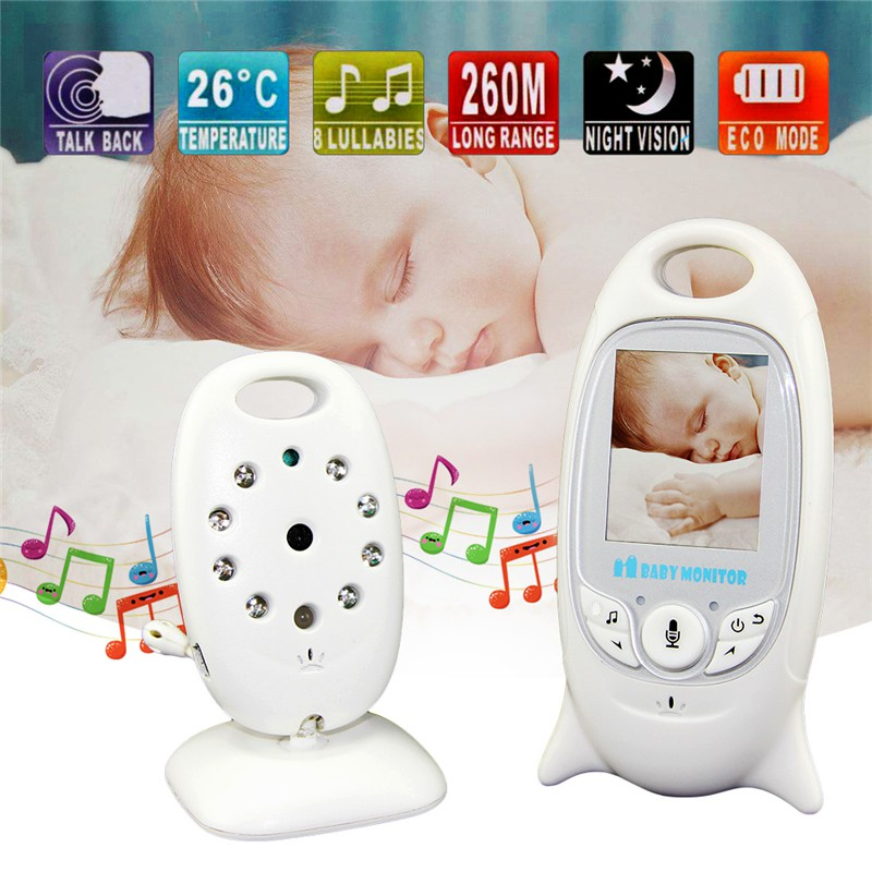 2.4GHz Wireless Digital LCD Color Baby Monitor Audio Video Night Vision Camera C