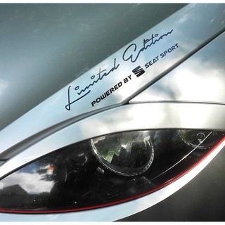 Limited Edition Powered By Seat Sport Aufkleber Sticker Sports Mind Cupra