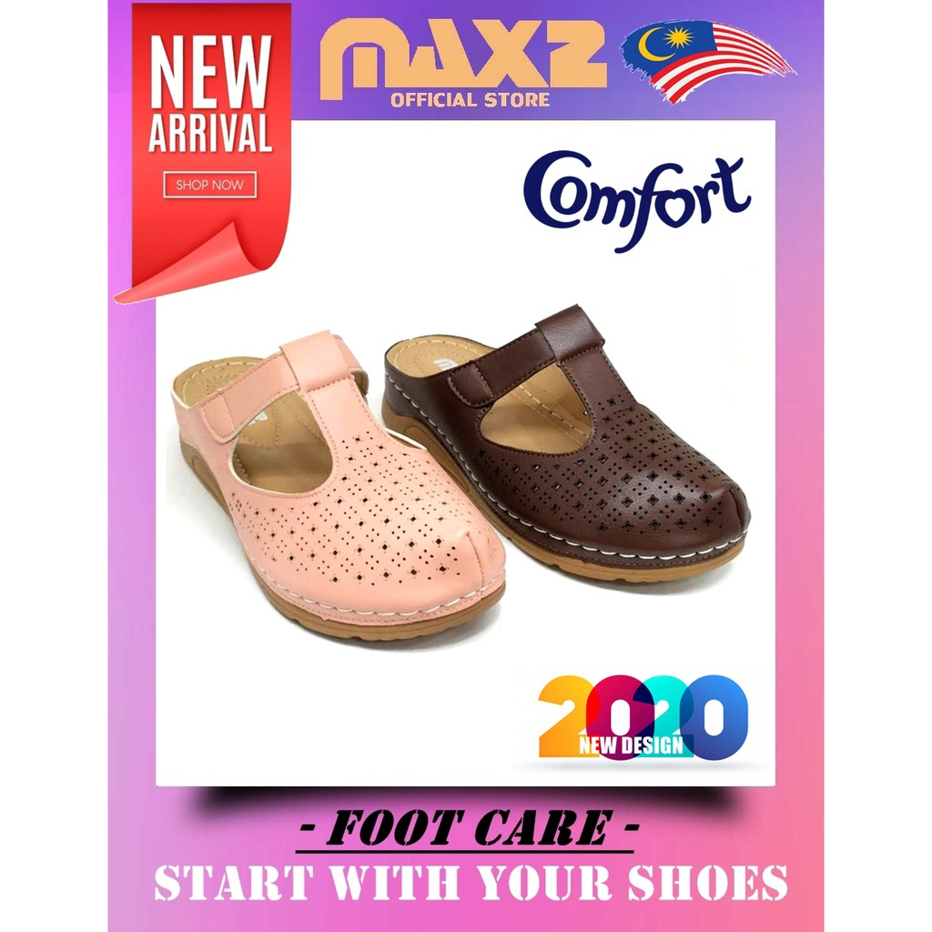 Women Half-Cover PU Outsole Comfort Shoes