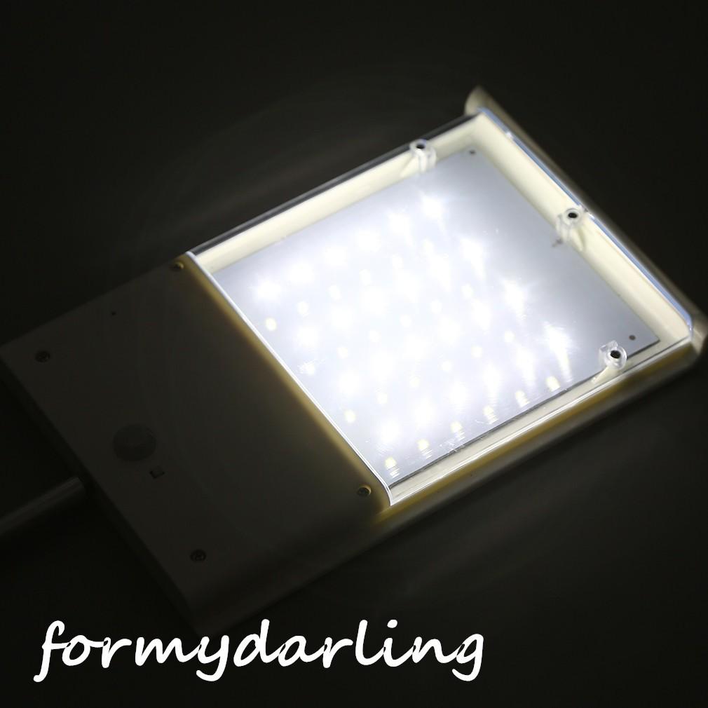 🔻Ready Stock🔻24 LED Ultra-thin Solar Sensor Wall Street Light on