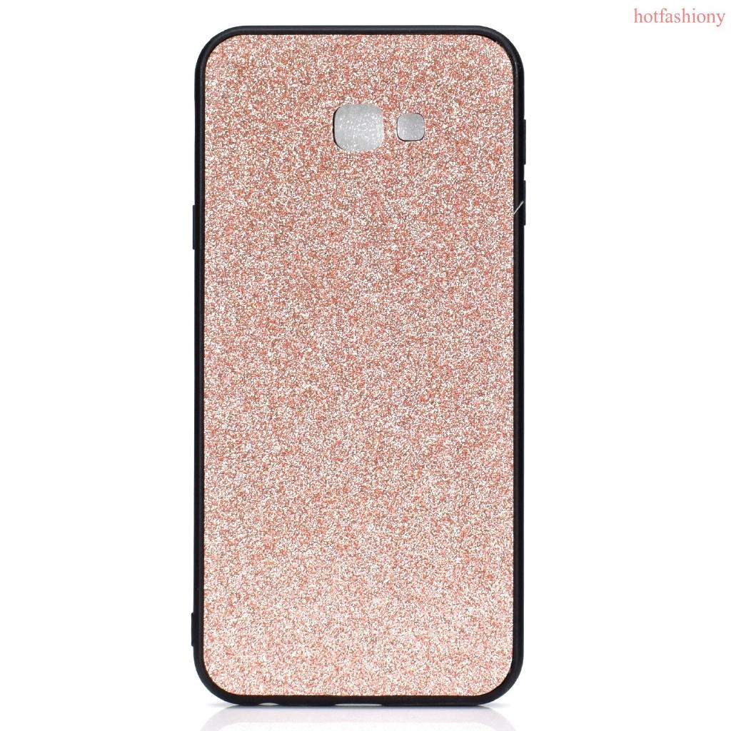 Rose Gold Case Samsung S10/S10 Plus/S10 Lite/J4 Plus/J6 Plus/M10/M20-Flash  Paste TPU+PC