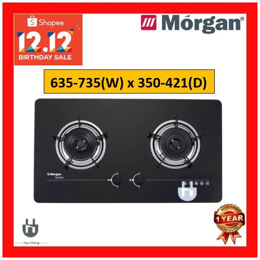 MORGAN BUILT IN GAS HOB 4.3kW MBH-622 OPTIFLEX