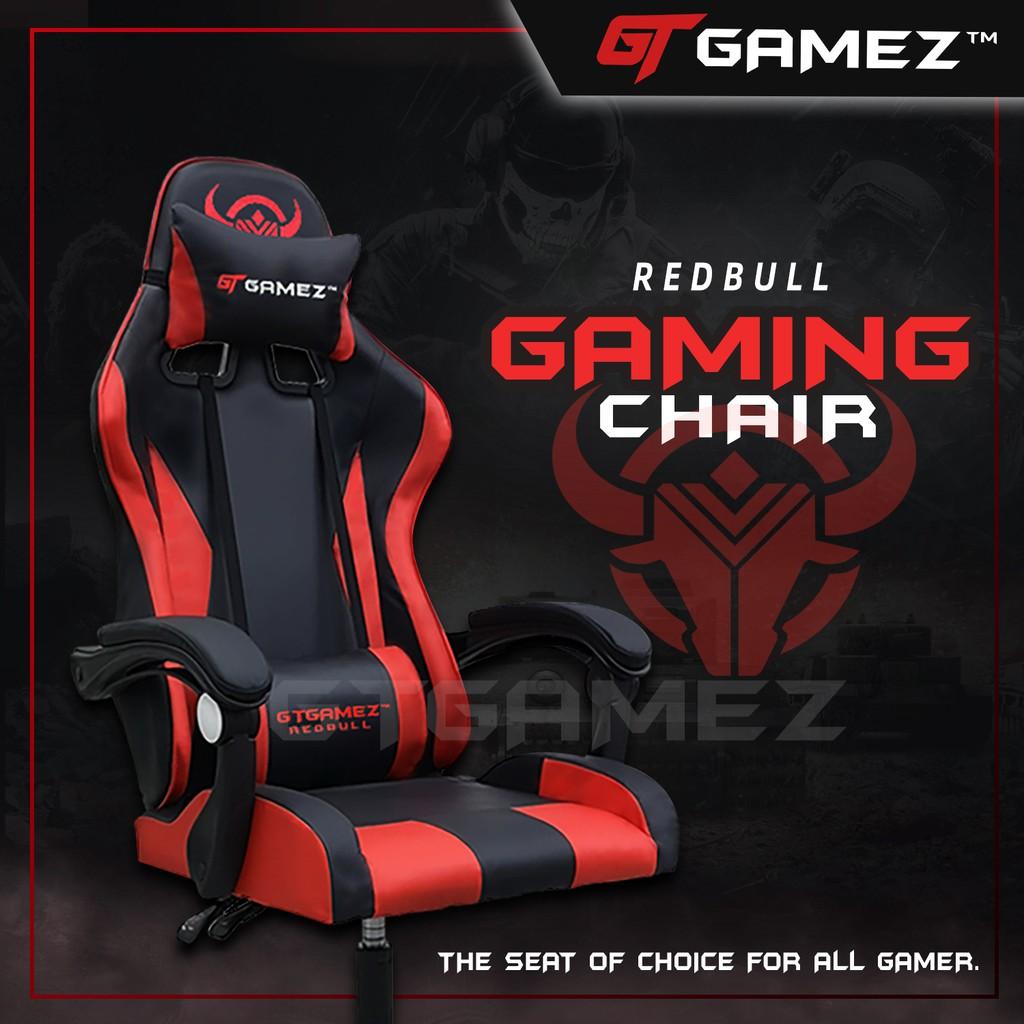 (Ready Stock) GTGAMEZ Gaming Chair (Nylon Leg) with Ergonomi...