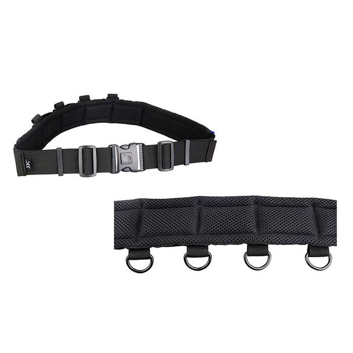JJC GB-1 Lightweight Deluxe Utility Photography Belt Strap Fits DLP Lens Pouch