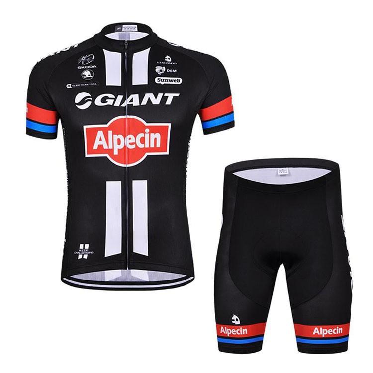 Pro Team Men s Short Sleeve Saxo Bank Tinkoff Cycling Jersey and Bib Shorts  Set  ae6651442
