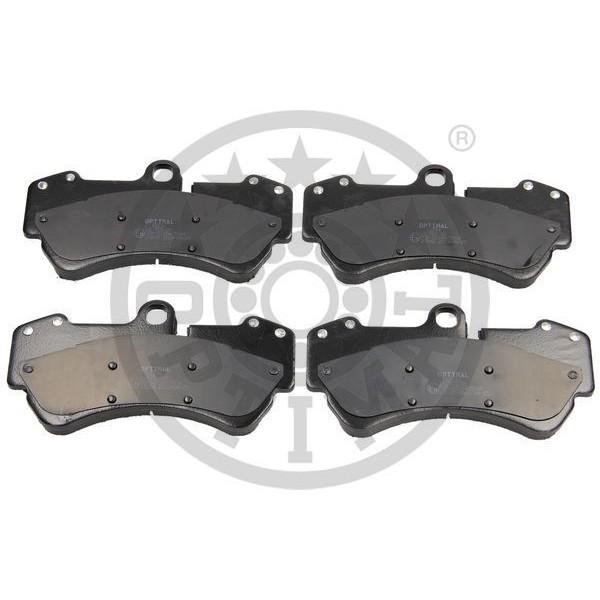 Front Metallic Brake Pads PORSCHE CAYENNE VOLKSWAGEN TOUAREG S V6 V8 TDI GTS