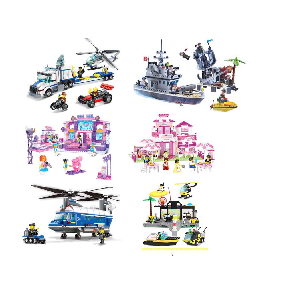 Children Blocks Playing Sets (6 designs to be chosen)