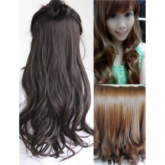 Wig Extension z06 Ready Stock 180g thick anti-shine rambut palsu extensionsK