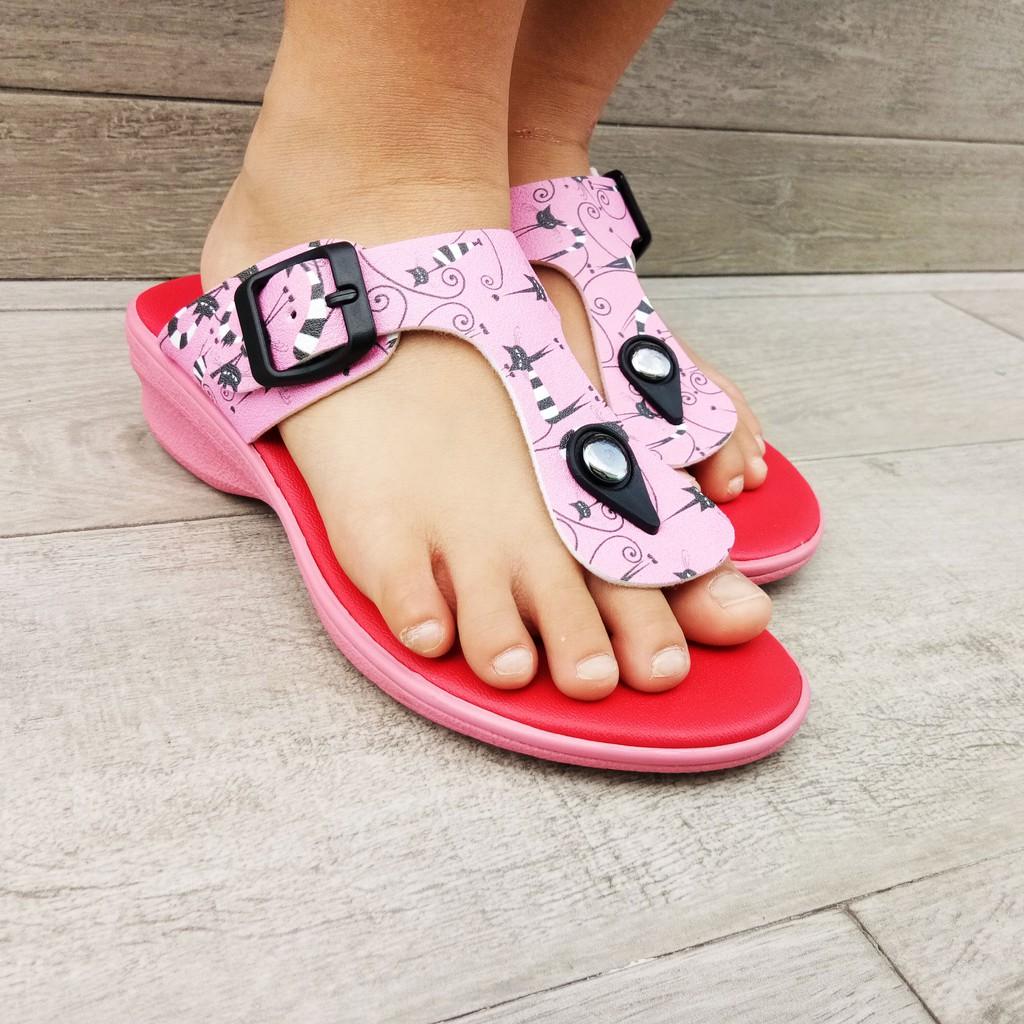 SHL Hello Kitty Lovely Girls Casual Kasut Slipper 8890