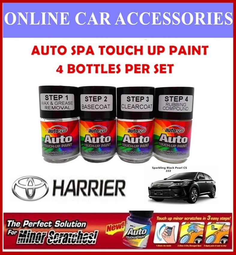 TOYOTA HARRIER Original Touch Up Paint - AUTOSPA Touch Up Combo Set (4 Bottles Per Set)