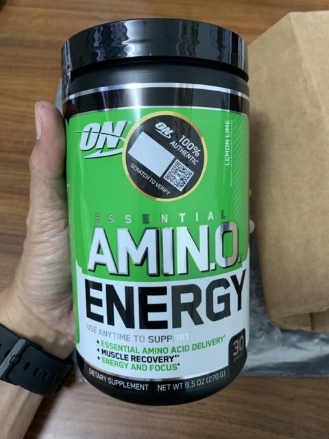 Optimum Nutrition Essential Amino Energy, 30 Servings (Promotion!!)