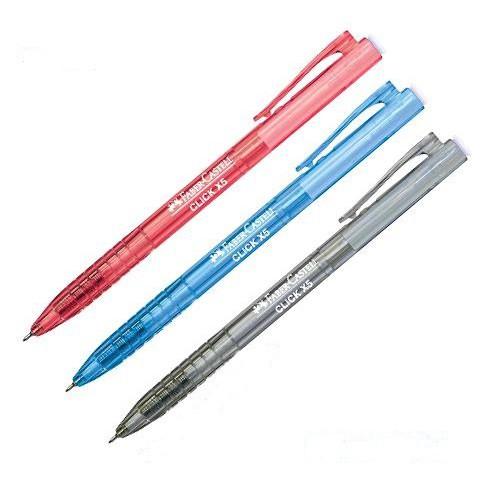 Faber Castell Click X Ball Pen Click X5 0.5mm 1425 / Click X7 0.7mm 1422
