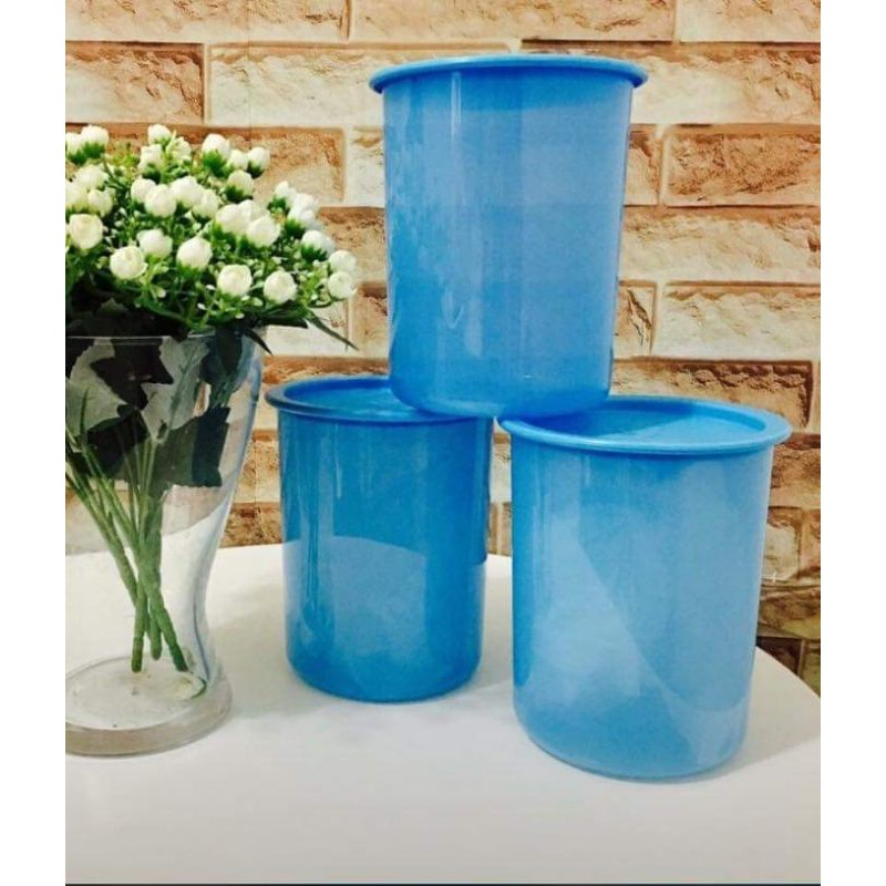 Tupperware One Touch Canister Junior 1.25L - Blue