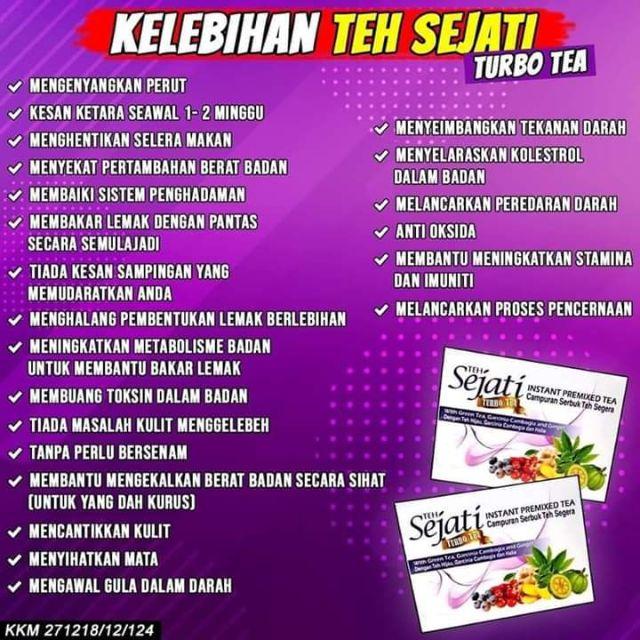 Teh Turbo Sejati Teh Kurus Shopee Malaysia