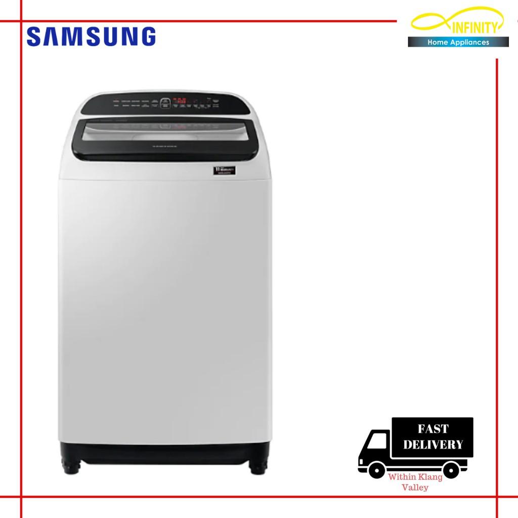 Latest Model Samsung 10kg Wa10t5260by Top Load Washing Machine Shopee Malaysia