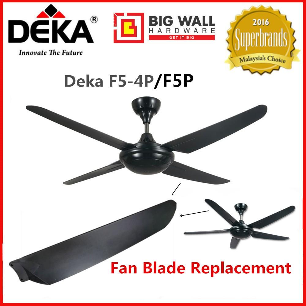 Fan Blade Replacement for Deka F5-4P/F5P Ceiling Fan *Pengganti Bilah Kipas Siling