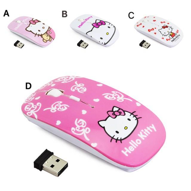 5d9fbd54c Wireless Mouse Sanrio Cartoon Super Slim Hello Kitty Mice Ajustable PC  Laptop | Shopee Malaysia