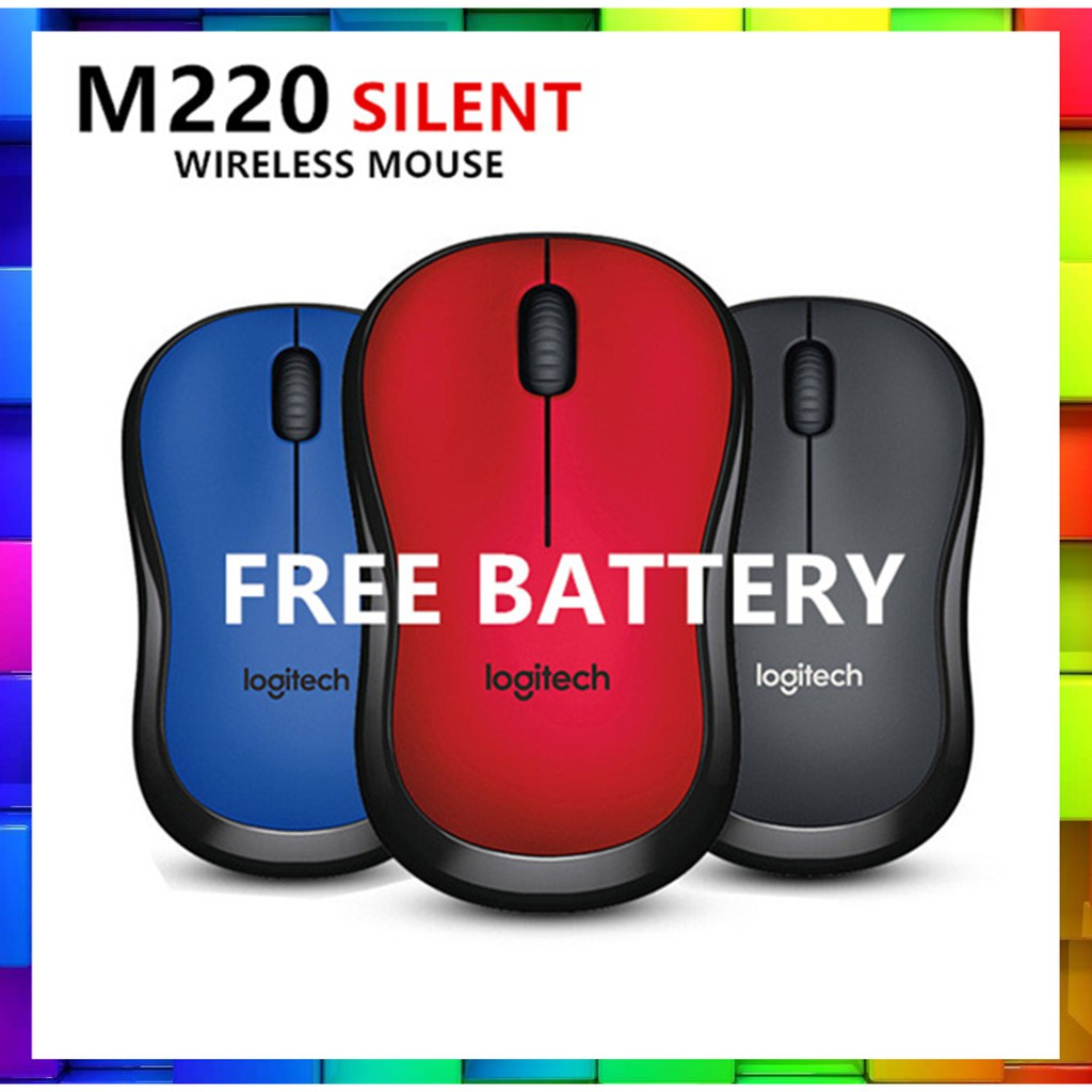 Logitech M331 Silent Plus Wireless Mouse Shopee Malaysia Cordless