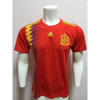separation shoes 25cd9 f388b Adidas 2018 World Cup Spain National Team Home Away Soccer ...