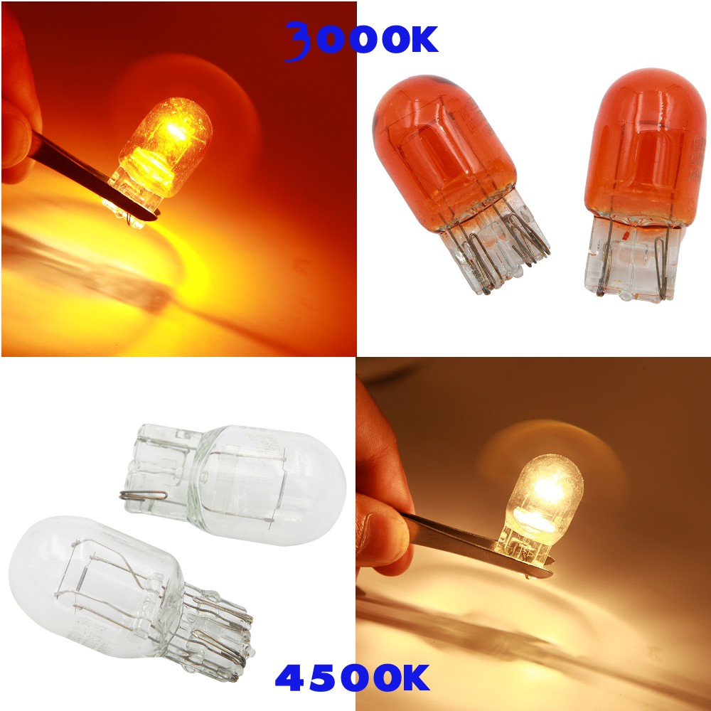 10pcs 1157 Amber Turn Signal Bulbs Tail Light Rear Brake Stop Lamps W// Box ^