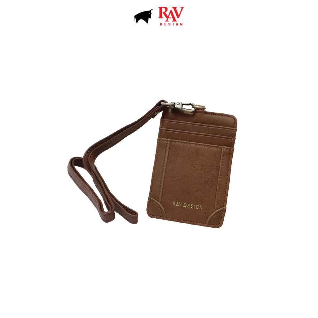 RAV DESIGN Men's Genuine Leather Cardholder |RVW672G3(E)