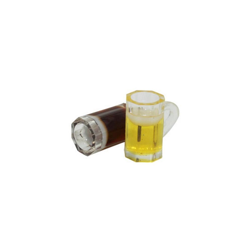 1:12 Dollhouse Mini Beer Cups Miniature Drink of Beer Model Toy JB
