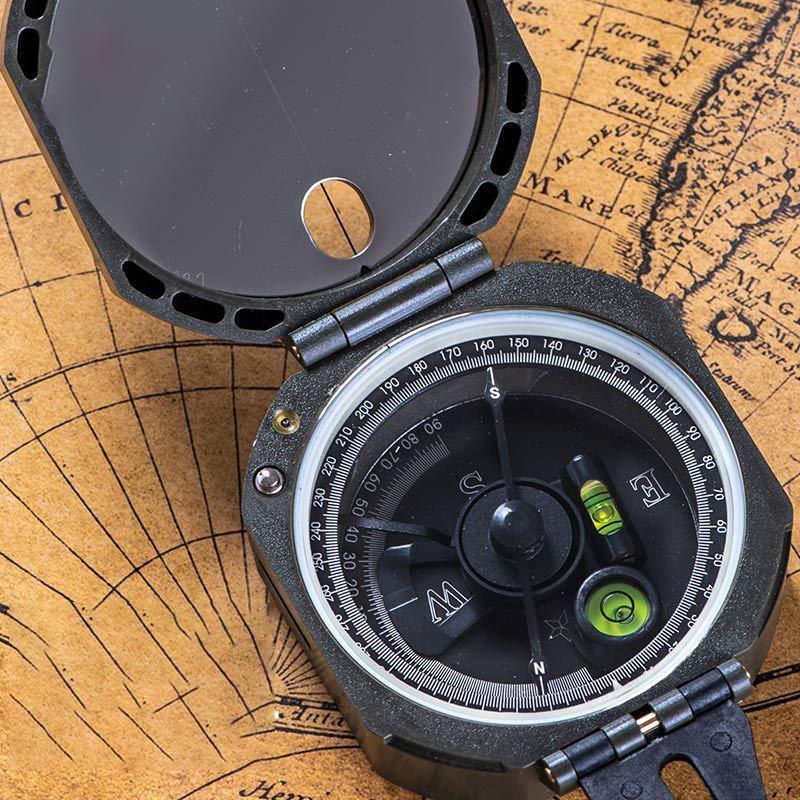 Naturehike Outdoor EDC Geological Luminous Compass Survival Emergency Survey Tool Kit Camping Hiking