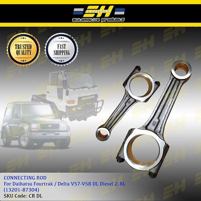 CON ROD - DL/ DV57A DAIHATSU (27 5mm- STRAIGHT) (13201-87304)