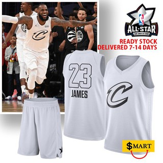 sports shoes 4d737 99dc4 Ori NBA 2018 All Star Game Full Suit -Jersey & Pants (Lebron ...