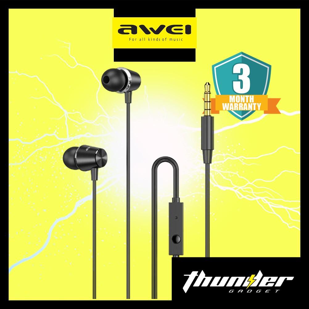 AWEI PC-2 Mini Stereo In ear Earphones