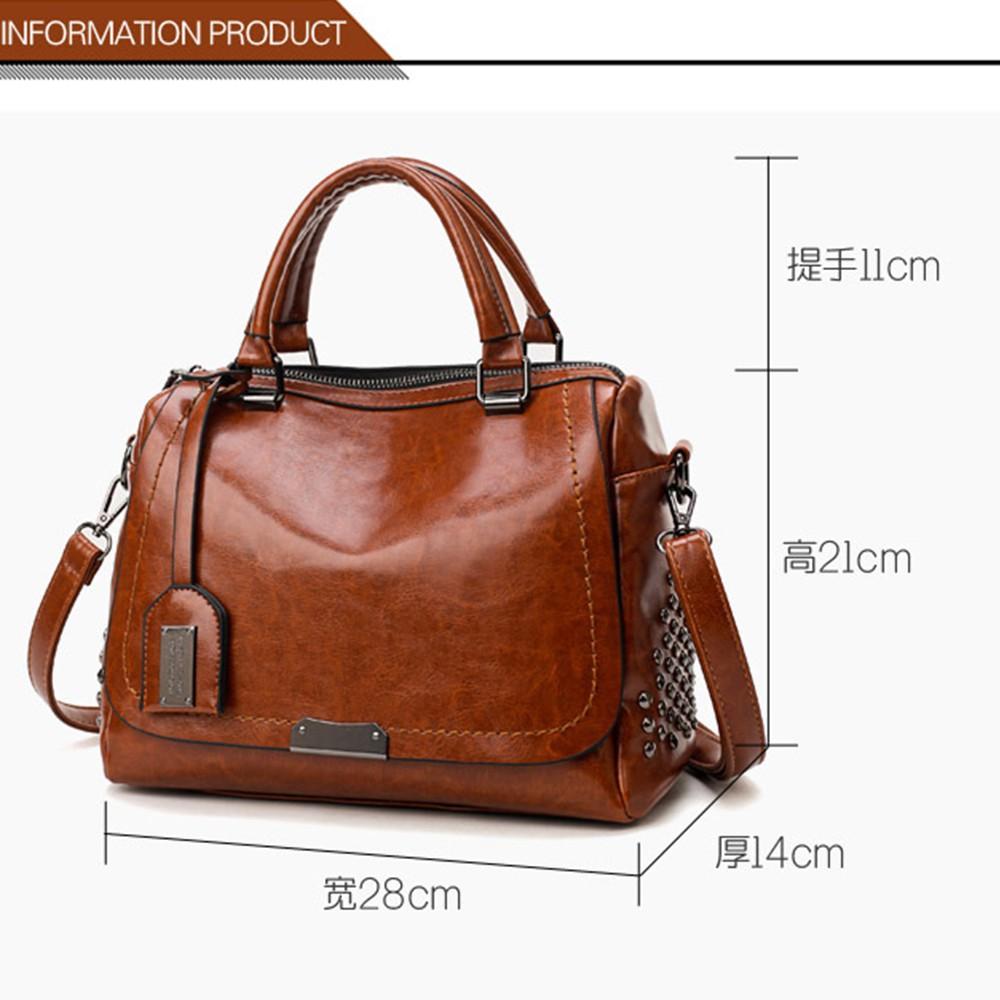 🔥Ready Stock 🔥Delly Fashion 2020 Women Bag Leather Handbag Luxury Ladies Shoulder Bag Shopping Travel