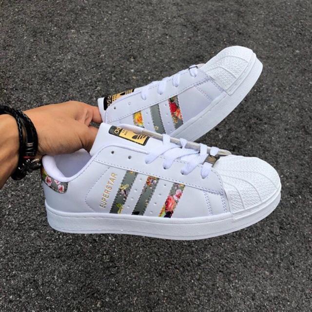 économiser c56ce edc71 RESTOCK - Adidas superstar flower grey