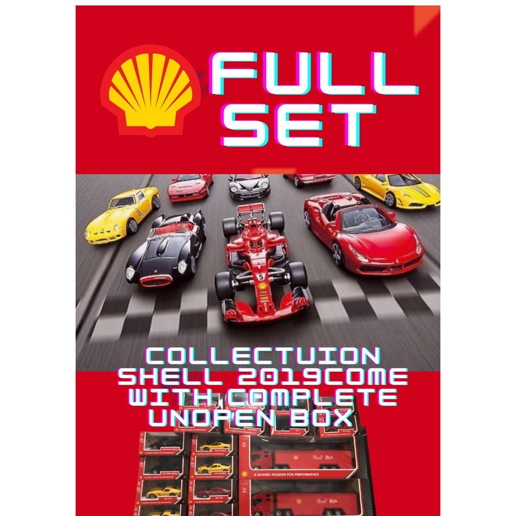 Car toy Collection Shell 2019/ Koleksi kereta shell 2019/ Full Set/Complete set