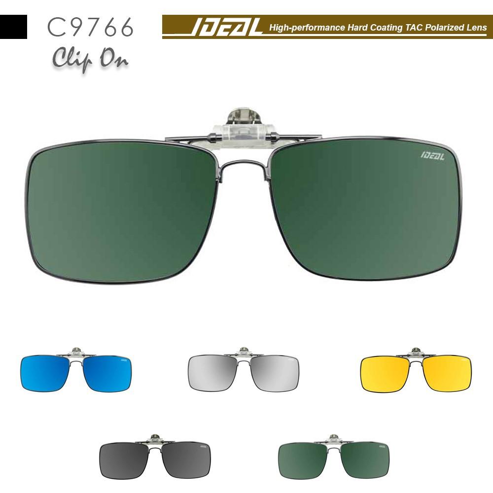 1ba24c1705 4GL CS03 Aviator Clip On Polarized Sunglasses