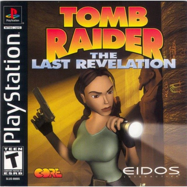 PS1 Game Tomb Raider IV The Last Revelation, Action Adventure Game, English version / PlayStation 1