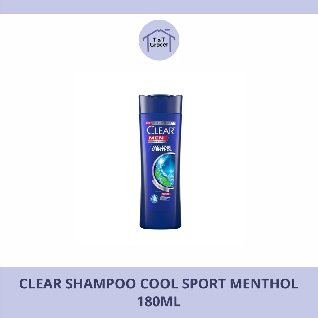 Clear Shampoo 70ml (Cool Sport Menthol/ Anti Hair Fall)