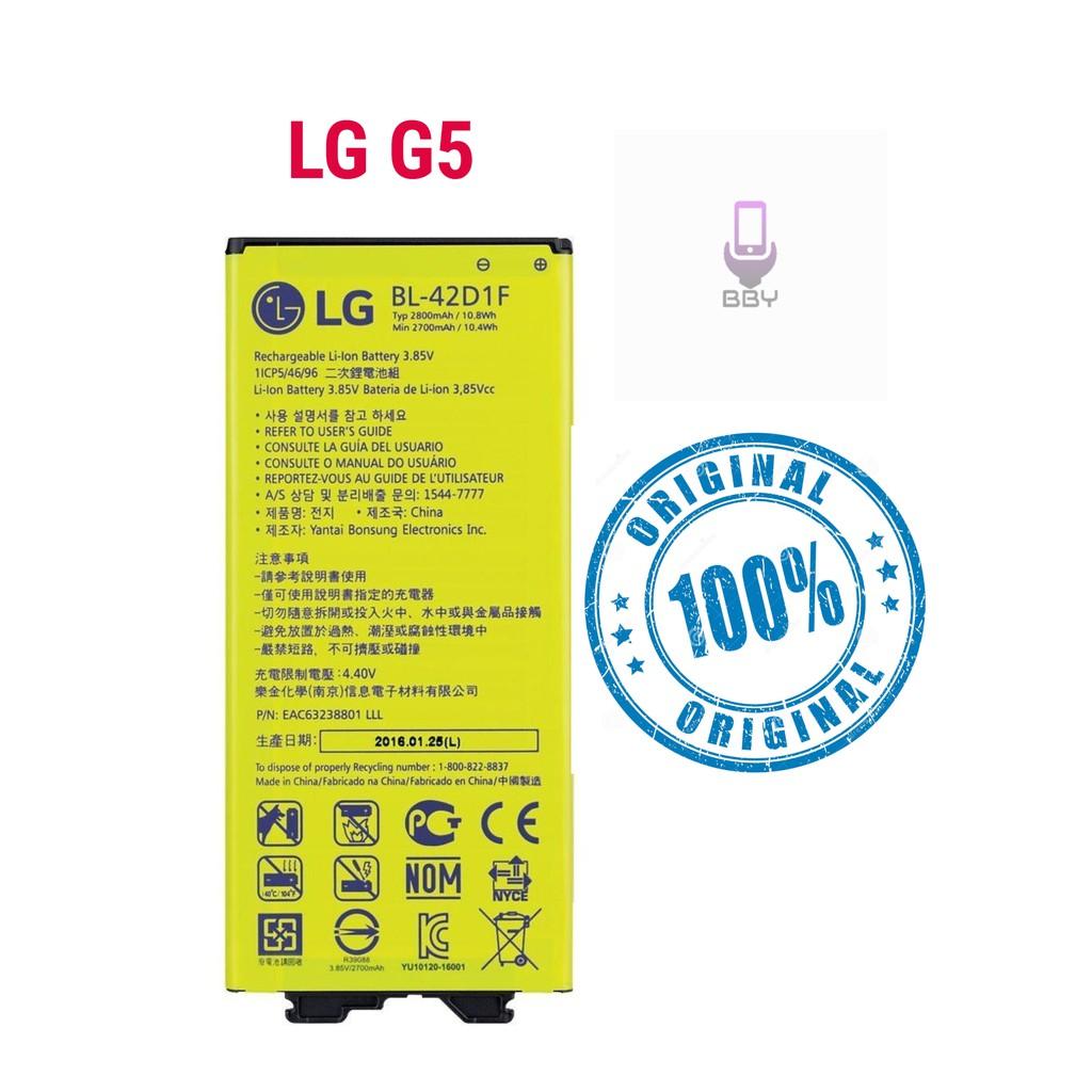 100% ORIGINAL Lg G5 BL-42D1F Battery 2800 mAh