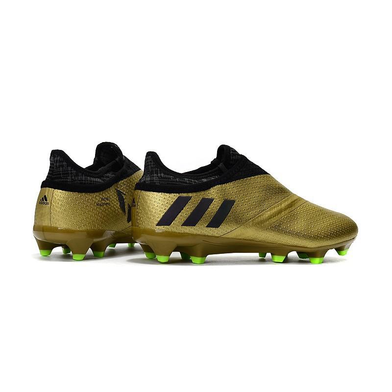 f85edafe8d9 Original Adidas Messi 16 + Pureagility FG men's/women's football shoes