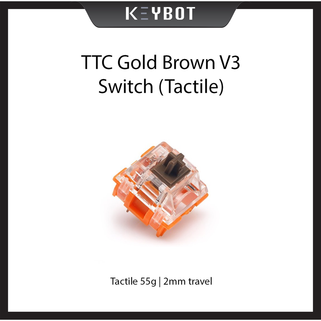 TTC Gold Brown V3 switches
