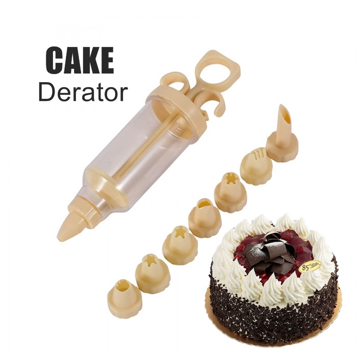 MALAYSIA: 7PCS/SET ALAT HIASAN KEK Cake Decoration Sugarcraft Tips Nozzles Pastry Frosting