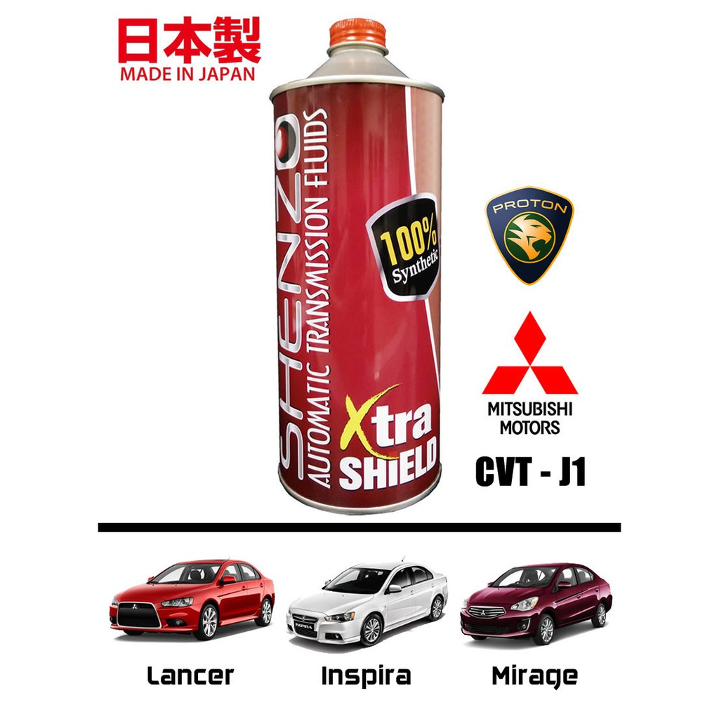 (for Mitsubishi Lancer, Mirage / Proton Inspira) Shenzo Performance CVT  Fluid J1