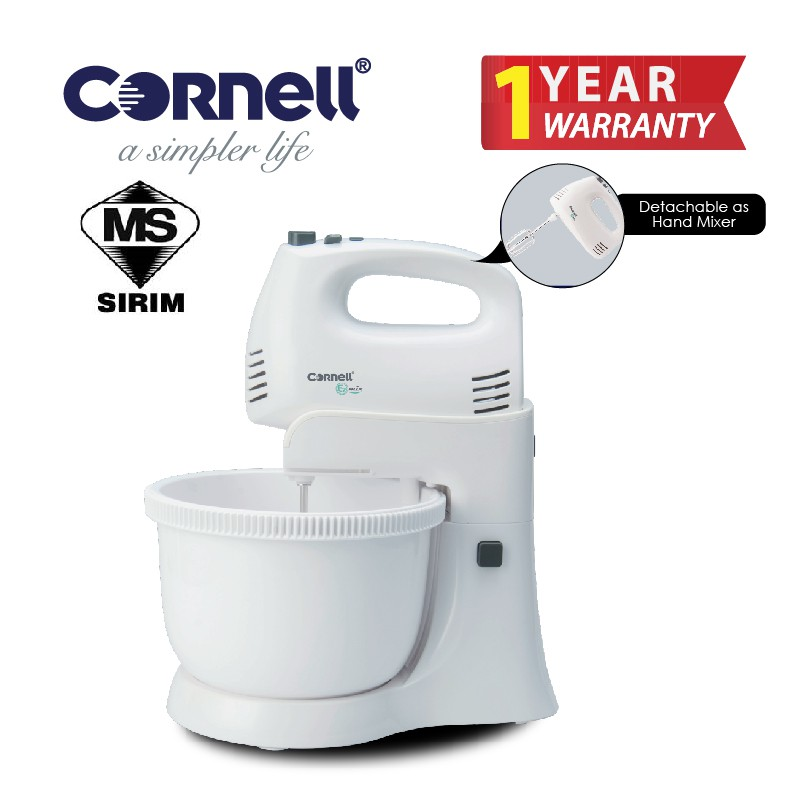 Cornell 5 Speed Stand Mixer CSM-S8008HP|for Dressings, Frosting, Meringues & More