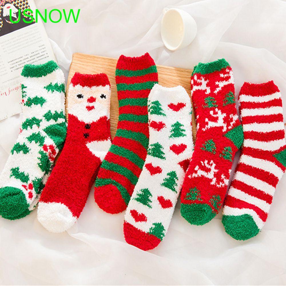 38277dee1 Mid Calf Length Socks Cotton Stripe Ethnic Style Ankle High Wool Sock |  Shopee Malaysia