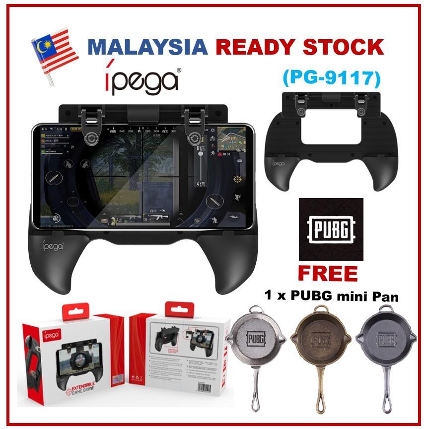 {Support PUBG} Ipega PG-9117 Android / Ios PUBG Game Controller GamePad  Shooter