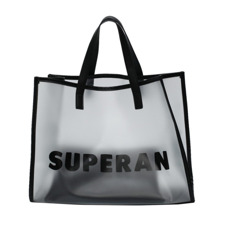 4af6c331676 Wholesale Luxury Clear Transparent PVC Beach Bag Large Capacity Waterproof  Shop