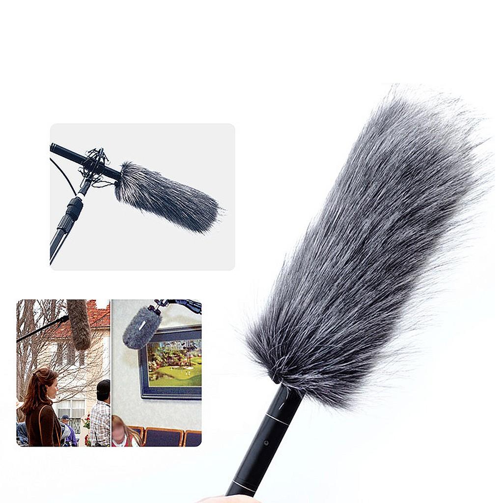 Furry MIC Windshield Windscreen WIND Muff for sony ECM-GZ1M ZOOM Shotgun Microphone