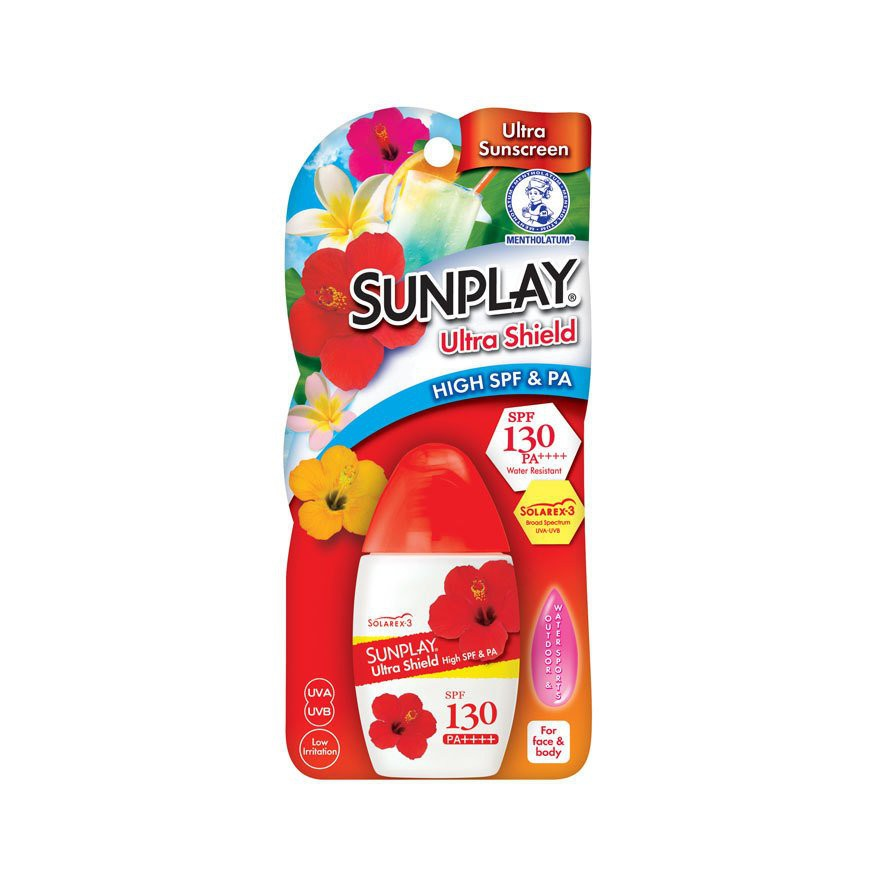 Sunplay Ultra Shield SPF 130++ Sunblock 60g (Water Resistant)