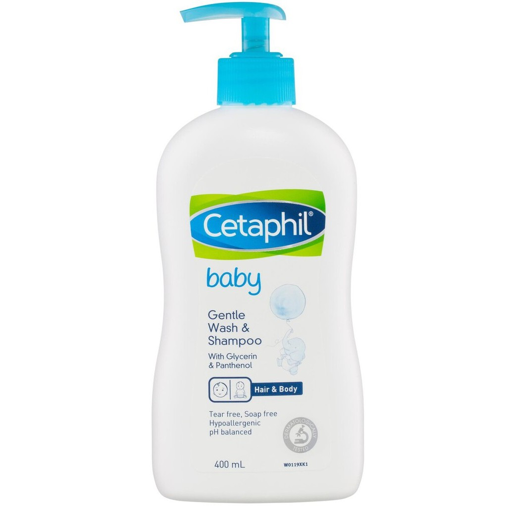 Cetaphil Baby Gentle Wash & Shampoo 400mL